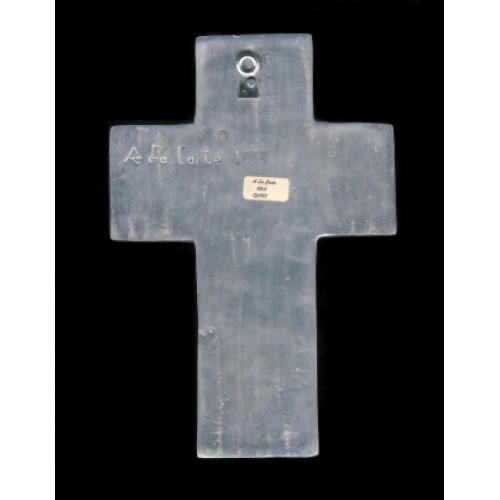 Decorative Cross A La Carte Silver With Lovely Bluebonnet Motif Home Decor