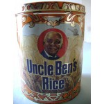 Uncle Ben's Rice Collectible tin, 40th aniversary