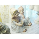 Gebruder Heubach Dutch Boy and Girl Figurines, Collectible, Antique Home Decor